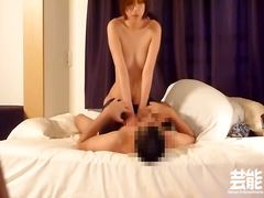 Amateur Asian fucked while dressed