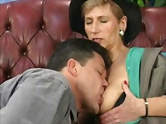My mom loves deep anal sex