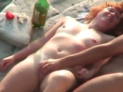 Nasty redhead babe fee... preview