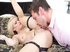 blonde, big cock, babe, big boobs,