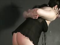 AlotPorn Movie:Spanking my slave daphne in agony