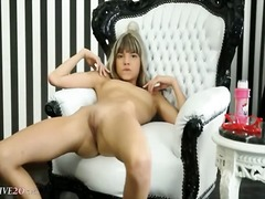 blonde, fingering, masturbation