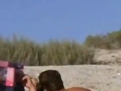 Voyeur films a natural big breasted n...