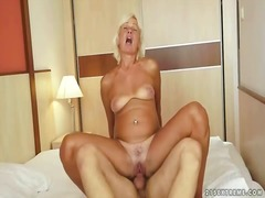 Hot granny having sex ... preview