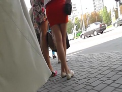 Thumb: Street upskirt from se...
