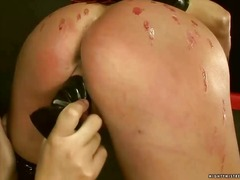 Mandy bright playing with her slavegirl