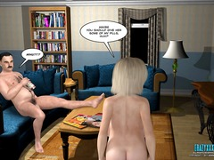 Thumb: 3d comic: the fall of ...