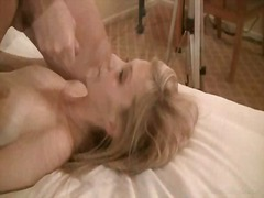 Sweet chelsea taking facial load