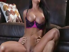 PornSharia Movie:Smoking hot black haired tanne...