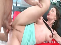 Nuvid - Bitchy excited milf getting her butt hole filled with dick