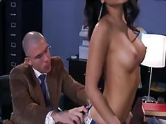 PornSharia Movie:Attractive smoking hot black h...