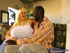 interracial, big, mature, blonde