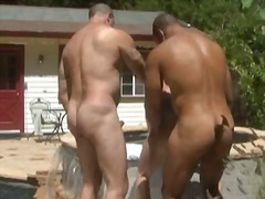 BoyFriendTV Movie:Trio bears body builders fuck ...