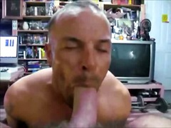 Hot gay blowing p...