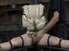 Ah-Me Movie:Gagged beauty made to submit