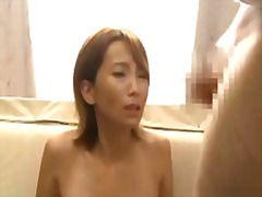Mature woman giving bl...