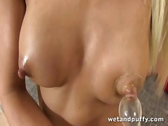 Lena love is wet and p...