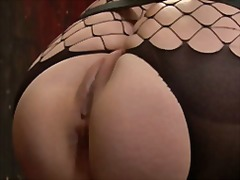 See: Kinky girl all bound up