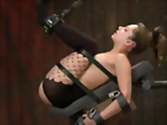 fetish, tied, dominatrix, ass, oil,