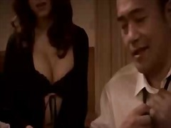 Hot japanese babe in o... video