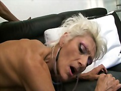 Alot Porn - French granny loves anal by young cock