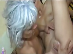mature, shaved, kissing, lesbian