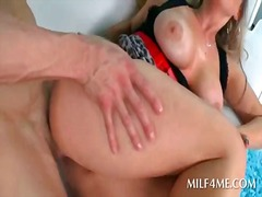 Thumb: Horny mommy getting he...
