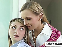 Mature Tanya seduces h... video