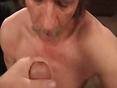 Thumb: Mature wanker cumming