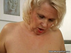 milf, mature, stocking,