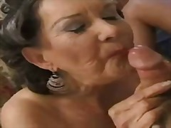 Mature threesome sex