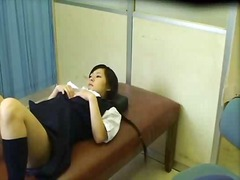Schoolgirl used by sch...