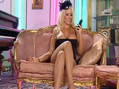 Thumb: Lucy zara nylon stocki...