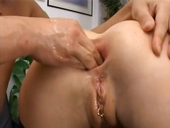IcePorn - Tight butt fisting on ...