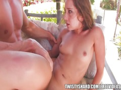 Big booty brunette remy lacroix bounces on hard cock