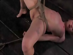 Young blonde tormented by cyd black: made to cum until cross eyed!