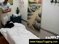 Asian working at spa rubbi... - 05:30