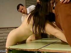 Hardcore and crazy bdsm action with a sexy slut angell summers and melyssa