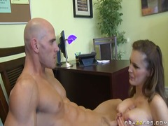 Jenna presley gets cum... video