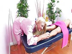 Redtube - Massage table fun with...