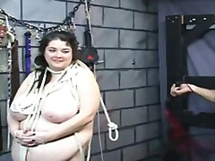 Thick bbw slave girl i... video