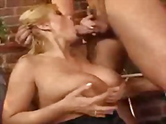 big, big boobs, mature, blonde