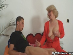 Mom-in-law takes him and h... - 06:08