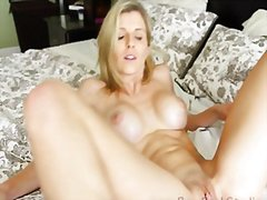 blonde, milf, couple,
