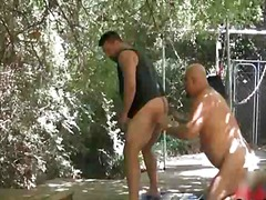 lick, ass, outdoor, oral, outdoors, gay