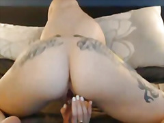 Super sexy tattooed girl f... - 06:17