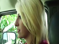 Stunning blonde milf is invited to th...