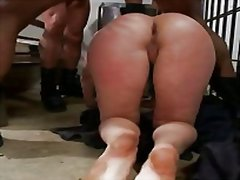 Angell summers - double anal in prison