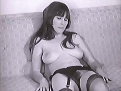 Lady shows all 92 (black and white vi...