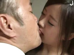 Hot asian babe kissing preview